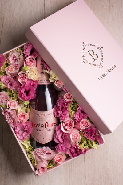 Bottle box Rosada