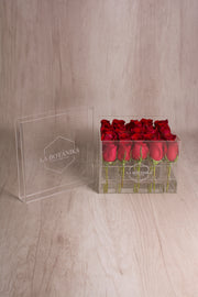 CRYSTAL BOX 25 ROSAS