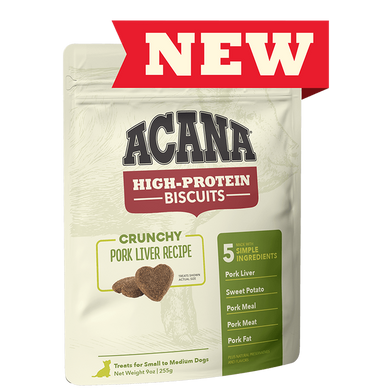 Acana Pork Liver Recipe High-Protein Biscuits 9 oz.
