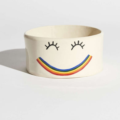 Ari & M Smilie Dog Bowl