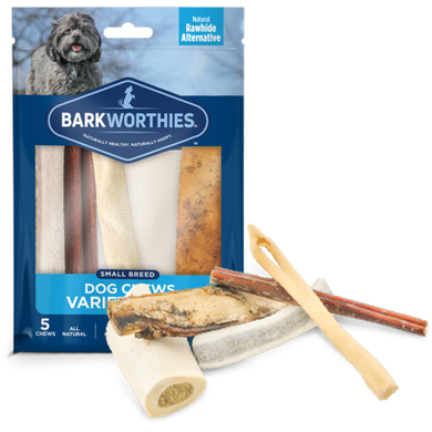 Barkworthies Dog Chews Variety Pack-Small Breed