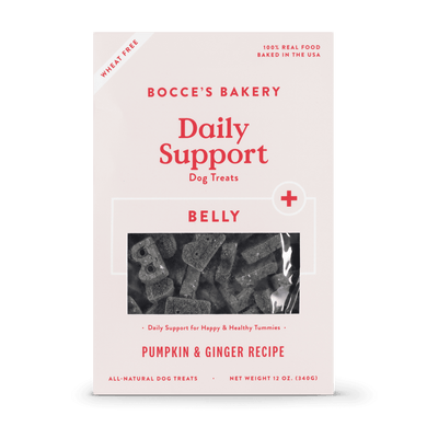 Bocce's Bakery Pumpkin & Ginger Belly Biscuits 12 oz.