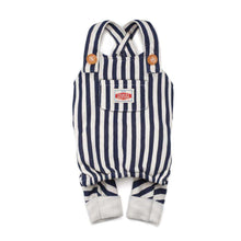 Load image into Gallery viewer, Charlie's Backyard Donut Overalls-Navy