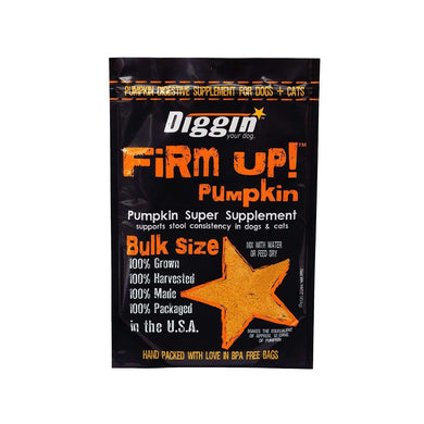 Diggin' Your Dog Firm Up! Pumpkin Digestive Supplement 16 oz.