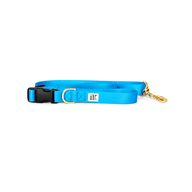 Dog + Bone Adjustable Leash-Blue