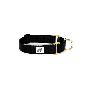 Dog + Bone Martingale Collar-Black