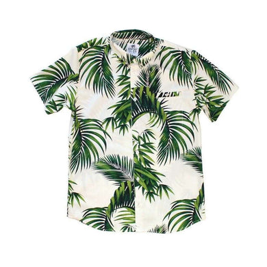 Dog Threads Men's Havana Palms BBQ Shirt