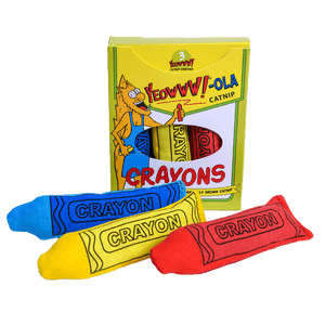Ducky World Yeowww!-ola Crayons-Pack of 3