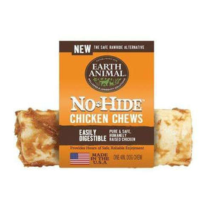 "Earth Animal No-Hide 4"" Chicken Chews"