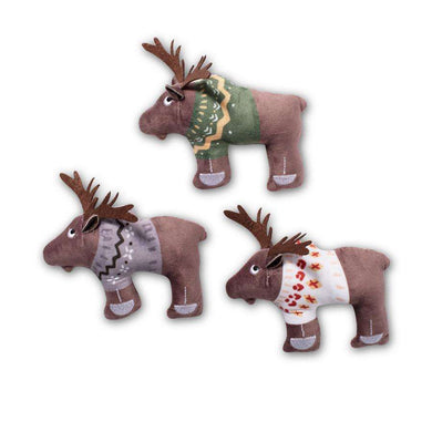 Fringe Studio Moose-y Christmas Mini Toy Set