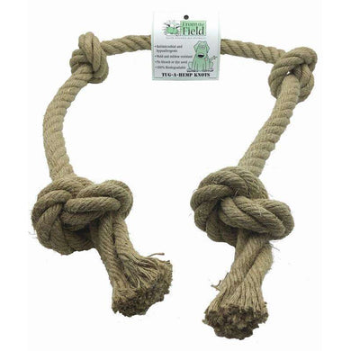 From the Field Tug-A-Hemp Knots Rope Toy