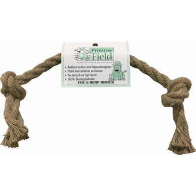 From the Field Tug-A-Hemp Medium Rope Toy