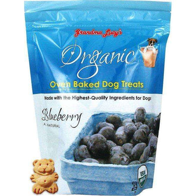 Grandma Lucy's Organic Oven Baked Blueberry Recipe Dog Treats 14 oz.