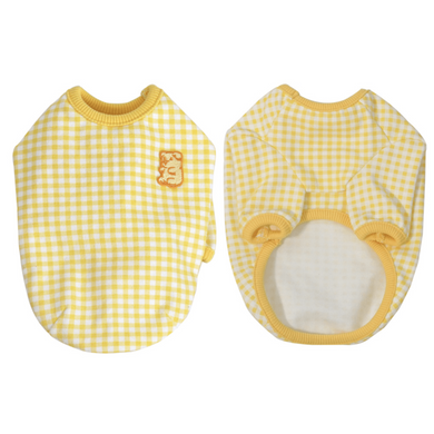 Hey Jerry Spring Picnic Top - Yellow