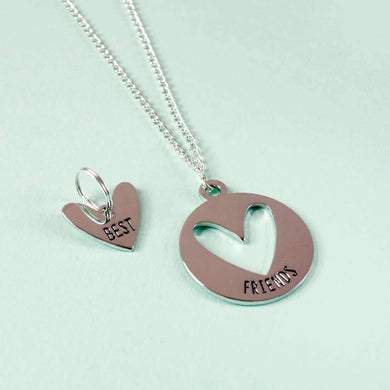 House of Wonderland Best Friends Pet Charm & Necklace Set