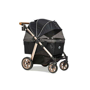 HPZ Pet Rover Titan HD Premium Super-Size Stroller SUV For Dogs, Cats, and Small Animals-Black