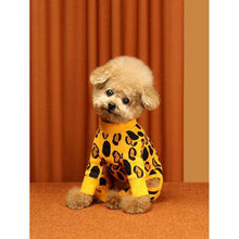 Load image into Gallery viewer, Huts and Bay Animal Print Onesie-Yellow