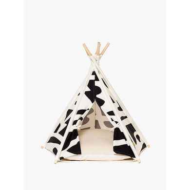 Huts and Bay Teepee-Black