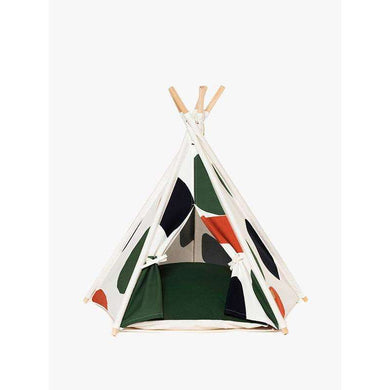 Huts and Bay Teepee-Camo