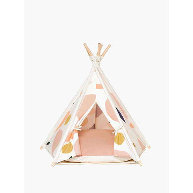 Huts and Bay Teepee Tent-Pink