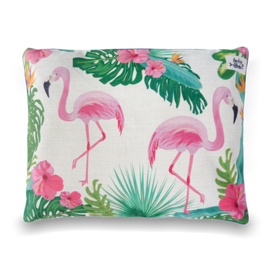 Indie Boho Pets Flamingo Paradise Pet Bed