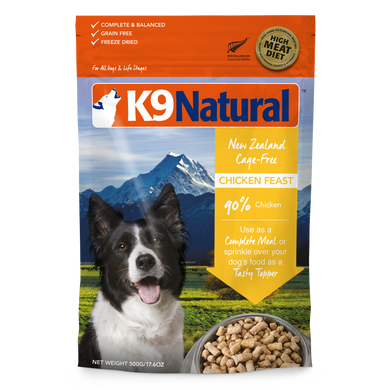 K9 Natural Chicken Feast Freeze-Dried Dog Food