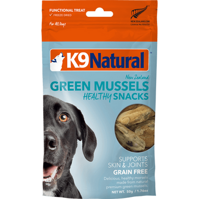 K9 Natural Dog Green Mussels 1.76 oz.