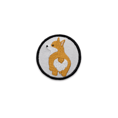 K9 Sport Sack Patch-Corgi