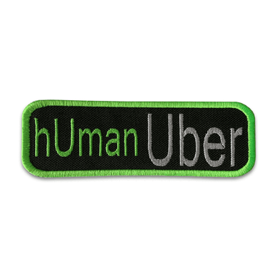 K9 Sport Sack Patch-Human Uber
