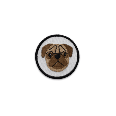 K9 Sport Sack Patch-Pug