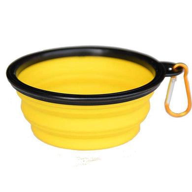 K9 Sport Sack Saucer-Yellow