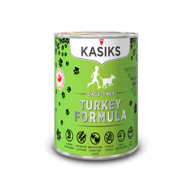 Kasiks Turkey Recipe Canned Dog Food 12.2 oz.