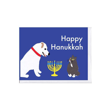 La Familia Green Happy Hanukkah Card