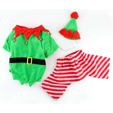 Midlee Designs Elf Pet Costume