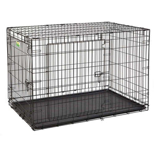 "MidWest Homes for Pets 48"" Contour Double Door Crate"