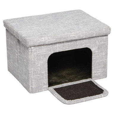 MidWest Homes for Pets Curious Cate Cube Cottage
