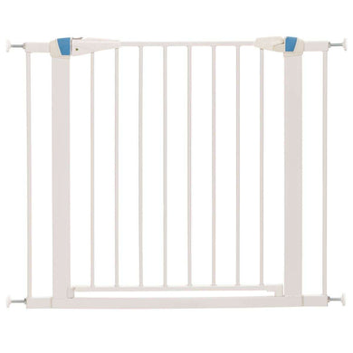 MidWest Homes for Pets Glow in the Dark Steel Pet Gate-White