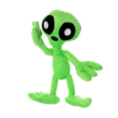 Mighty Jr. Alien Dog Toy