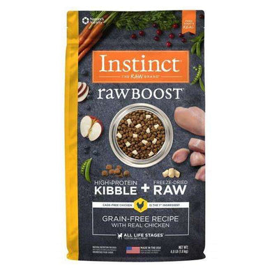 Nature's Variety Instinct Raw Boost Chicken Formula Dry Dog Food