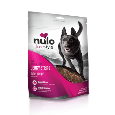 Nulo FreeStyle Beef & Coconut Jerky Treats 5 oz.