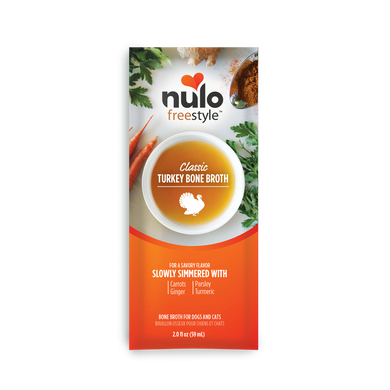 Nulo Freestyle Classic Turkey Bone Broth