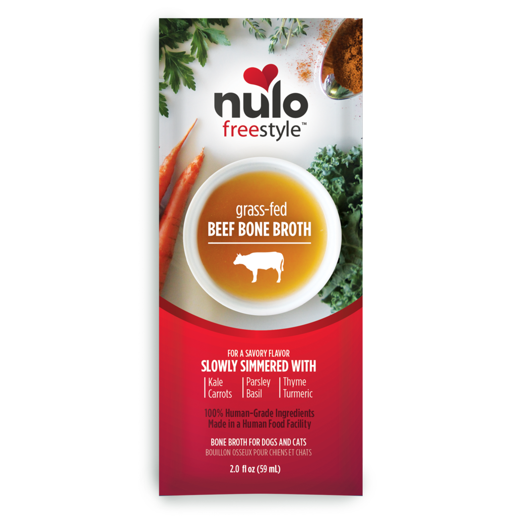 Nulo Freestyle Grass Fed Beef Bone Broth