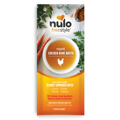 Nulo Freestyle Organic Chicken Bone Broth