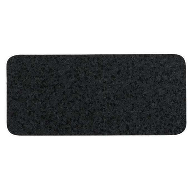 Oré Pet Recycled Rubber Skinny Placemat-Black