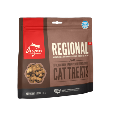 Orijen Regional Red Freeze-Dried Cat Treats 1.25 oz.