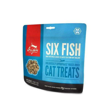 Orijen Six Fish Freeze-Dried Cat Treats 1.25 oz.