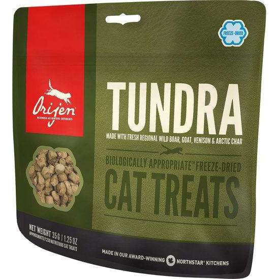 Orijen Tundra Freeze-Dried Cat Treats 1.25 oz.