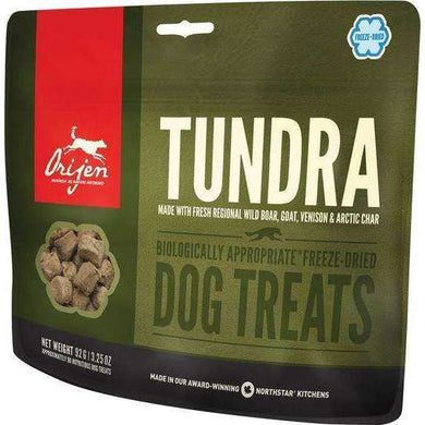 Orijen Tundra Freeze-Dried Dog Treats 3.25 oz.