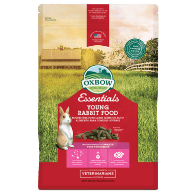 Oxbow Essentials Young Rabbit Food 5 lb
