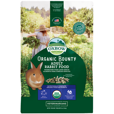 Oxbow Organic Bounty Adult Rabbit Food 4 lb